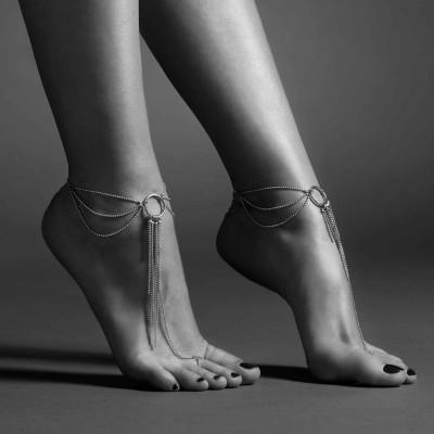 cavigliera color argento